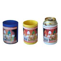Porta Latinha Lata 350ml Térmico Cerveja Plastico Cor Sortid