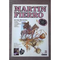 Martin Fierro Ricardo Carpani 2 Laminas Unicas Homenaje