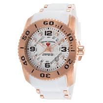 Relógio Swiss Legend Commander Sl10069-rg-02s Wht 47mm !