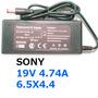 Cargador Sony 19v 4.74a 6.5x4.4/ Mallbits