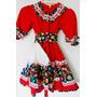 Vestido Huasa Niña Talla 6-8 $ 1200