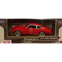 Ford Maverick 1974 Rojo Motor Max 1/24