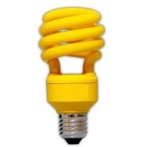 Lâmpada Compacta Colorida Amarela Espiral 15w 127v E27