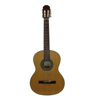 Guitarra Clasica Medio Concierto Cuerpo Nogal Expocompra
