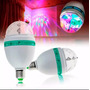 Bombillo Disco Led Giratorio Multicolor Oferta