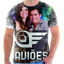 Camiseta Aviões Do Forró Musica Estampada Personalizada 2