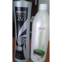Selagem Smooth Defrizante Brush 3d Step2 1000ml E Ganhe Sham