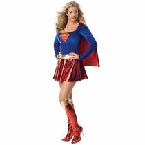 Disfraz Para Mujer De Supergirl Super Chica