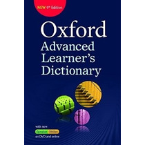 Oxford Advanced Learner´s Dictionary - 9th Edition! 2015!