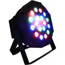 Reflector Cañón Luz Par 64 18x1w Hyper Leds Dmx Dj Luces
