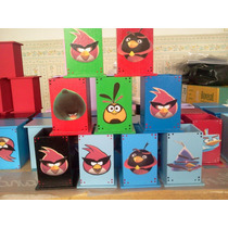 Souvenirs Portalapices Lapiceros Angry Birds !!!!!!!