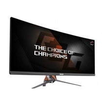 Asus Rog Monitor Gaming 34 Ultra-wide Curved Pg348q G-sync