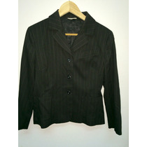 Blazer Mujer Italiano Stefanel Talle 44 Made In Italy