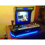 Bartop 4 Players Con Hyperspin Fichin 16000 Juegos Portatil