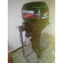 Motor Mercury 40 Hp Casi Sin Uso Año 2013 - Vendo O Permuto