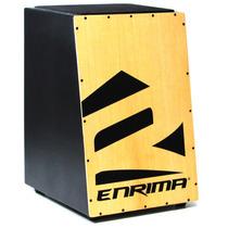 Cajon Instrumento De Caixa Acústica Carron Elétrico Enrima