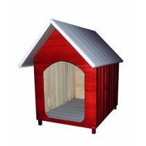 Casinha Para Cachorro - Telhado Galvanizado - Grande