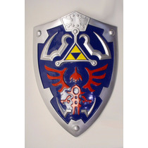 Escudo Zelda Full Size Link Hylian Shield With Grip & Handle