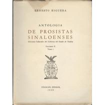 Antología De Prosistas Sinaloenses Tomo 1 Volumen Ii.