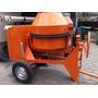 Concretera Nueva Motor 13.5hp+6 Parihuelas+2 Cilindros