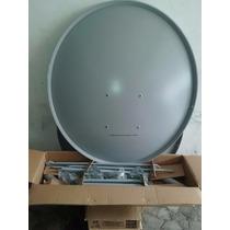 Antena Satélite Parábola 90cm + Lnb Universal + 20m De Cabo