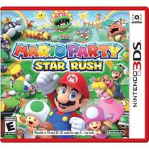 ¡¡ Mario Party Star Rush Para Nintendo 3ds En Wholegames !!