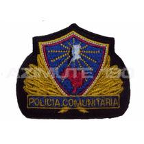 Distintivo Brevê Polícia Comunitária Bordado