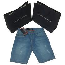 Bermudas De Jeans Caballeros Tommy Hilfiger Envio Gratis Mrw