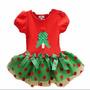 Vestido Natalino Mamae Noel Para Festa E Natal Bebe E Infant