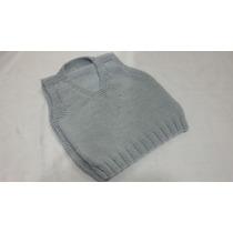 Colete De Trico Feito Á Mão (pullover)