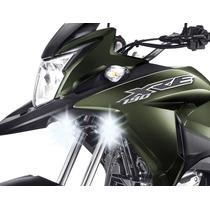 Farol Auxiliar Milha Neblina Luz Led Moto Honda Xre 190