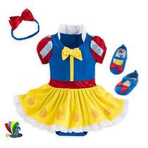 Disfraz Blanca Nieves Bebe Vestido Zapatos Disney Store