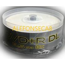 Dvd+r Dl Marca Gtm Imprimible 8.5gb !! Los Dos Caminos