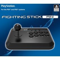 Palanca Joystick Tipo Arcade Fighting Stick Mini Ps4 Y Ps3
