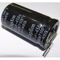 Capacitor Eletrolítico 120uf 450v - 3pçs