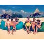 Colchão Ar Praia Acampamento Lay Bag Intex Camping Nautica