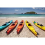 Poster (95 X 63 Cm) Kayaks On Beach Hahei Coromandel