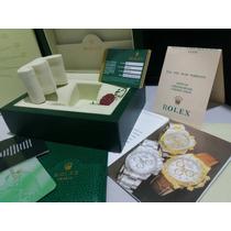 Caixa 0333 Box Estojo Rolex Daytona Manual Medalha Completo