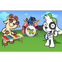 Painel Decorativo Festa Infantil Doki Discovery (mod1)