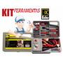 Kit De Emergência Com Ferramentas P Automóvel Maleta C 32 Pc