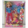 Barbie Com Cachorrinho Que Faz Coco - Baby