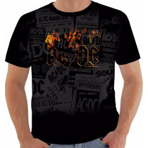 Camisa Camiseta Regata Ac Dc Angus Young Rock In Roll