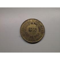 Moeda Peru Un Sol De Oro 1953