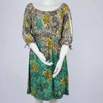 Vestido Feminino Estampado Floral Tecido Leve 2826520 Ni