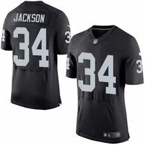 Camiseta Nfl Oakland Raiders 34 Jackson