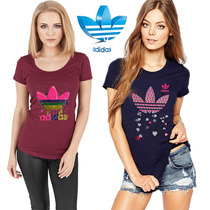 Remeras Adidas Originals Mujer Pack 3 Mujer Primavera Verano