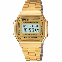 Reloj Casio Vintage A168wg9vt Time Square
