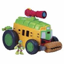 Tortugas Ninja Camión Shellraiser Con Sonidos