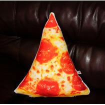 Cojín Decorativo Forma Pizza Comida Para Regalo