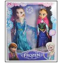 2 Bonecas Do Filme Frozen Anna E Elsa Pronta Entrega